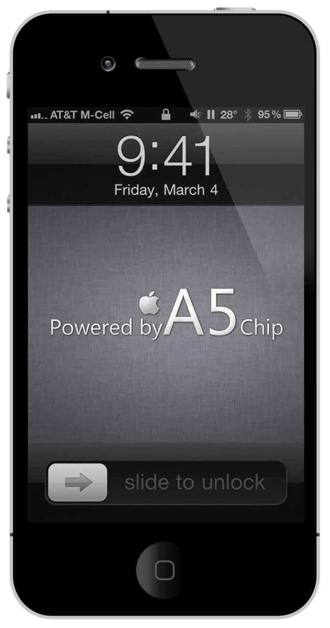 A5 Chip iPhone 4 Wallpapers
