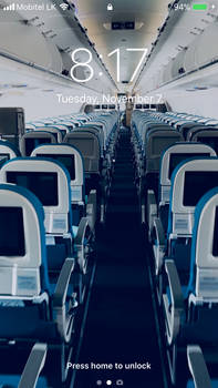 A321 Neo Aircraft Cabin  Wallpapers for Any iPhone