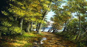 Autumn forest 1 of 3 by Sketchbookuniverse