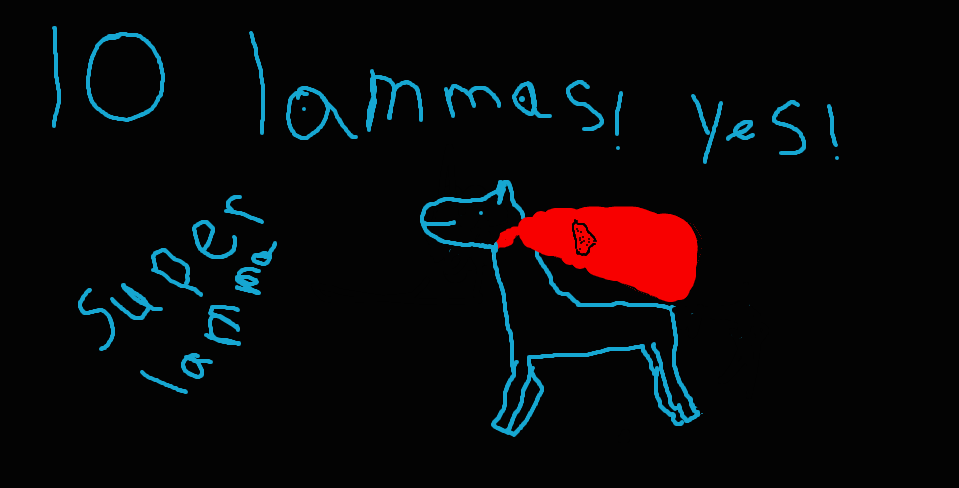 10 lammas super lamma by 22bosswolf