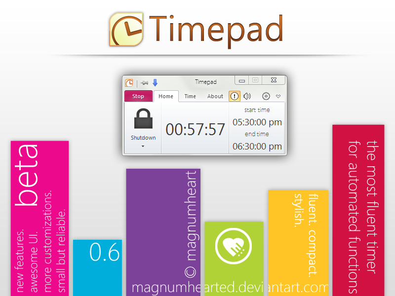 Timepad Windows Automated Timer