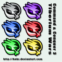 CnC3 Tiberium Wars Icons
