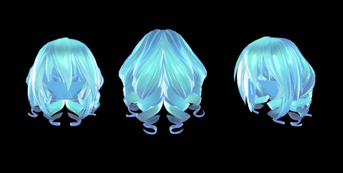TDA Short Curly Hair [+DL] by Owth