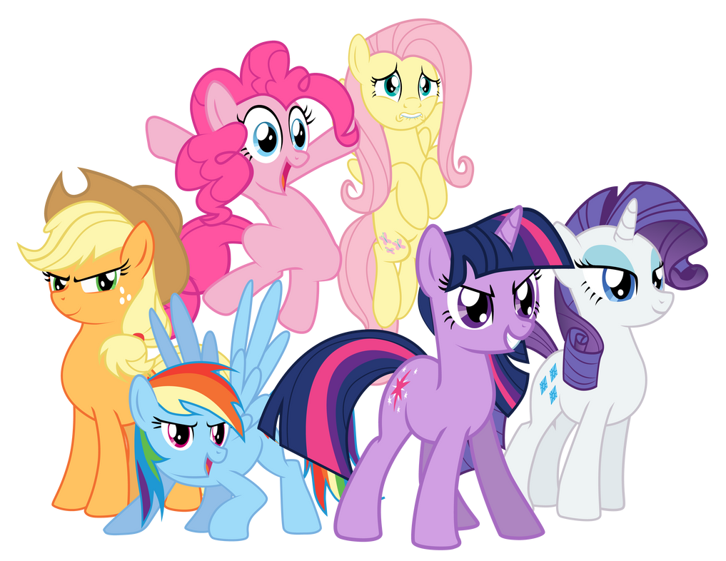What Are The Six Main Elements Of Art : Mane ready for anything by mlp silver quill on deviantart