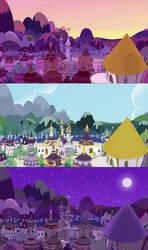 Canterlot Horizon Phases