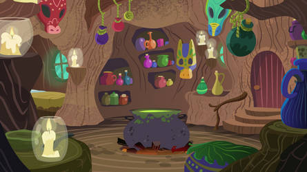 Zecora's Home Interior