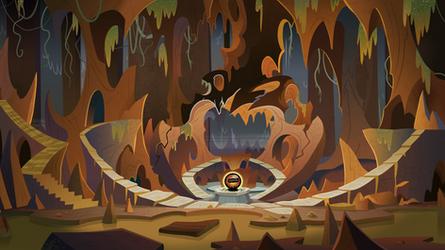 Grogar Lair Background