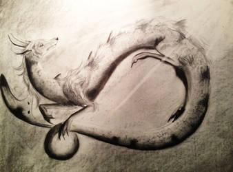 Dragonsketch by Watchowl