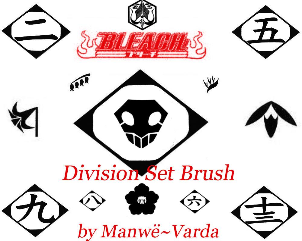 Gotei 13 Set Brush by Manwe-Varda