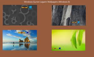 (Windows 8) Gurren Lagann Modded Wallpaper