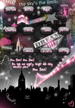 NewYork Theme for iPhone