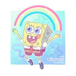 Spongebob by TheOceanOwl