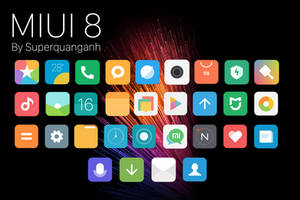 MIUI 8 icons by Superquanganh