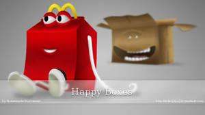 Happy Boxes Icons