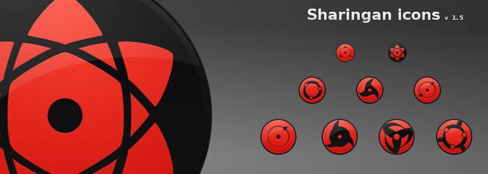Sharingan icons 1.5
