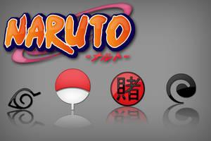 Naruto's logos by Kshegzyaj