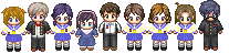 Corpse Party RPG Maker XP sprite pack by Aw3som3-person