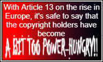 DeviantArt Animated Stamp #10 - No to Article 13!