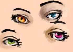 Eyes by SoothSheeper