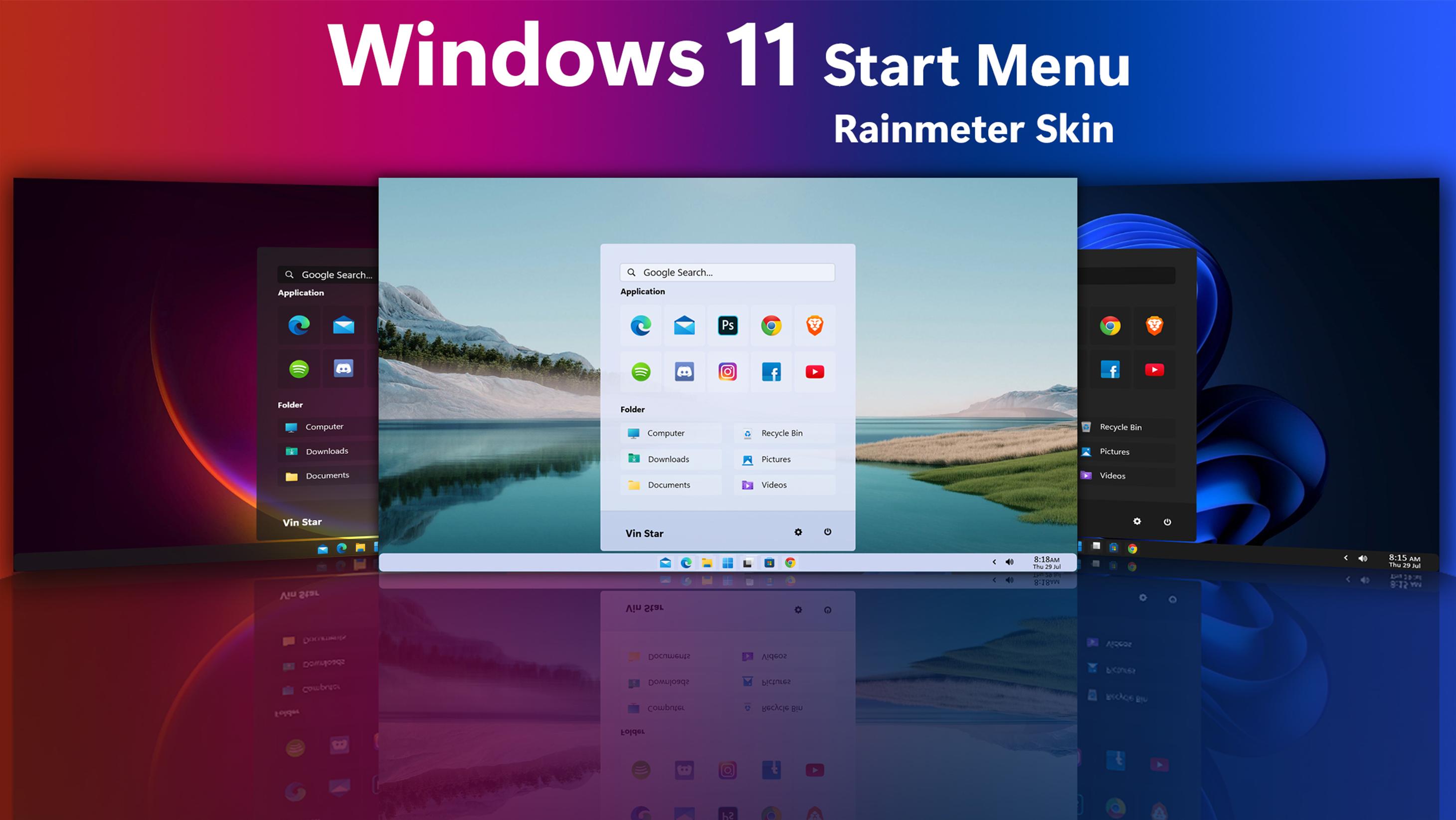 Windows 11 Start Menu