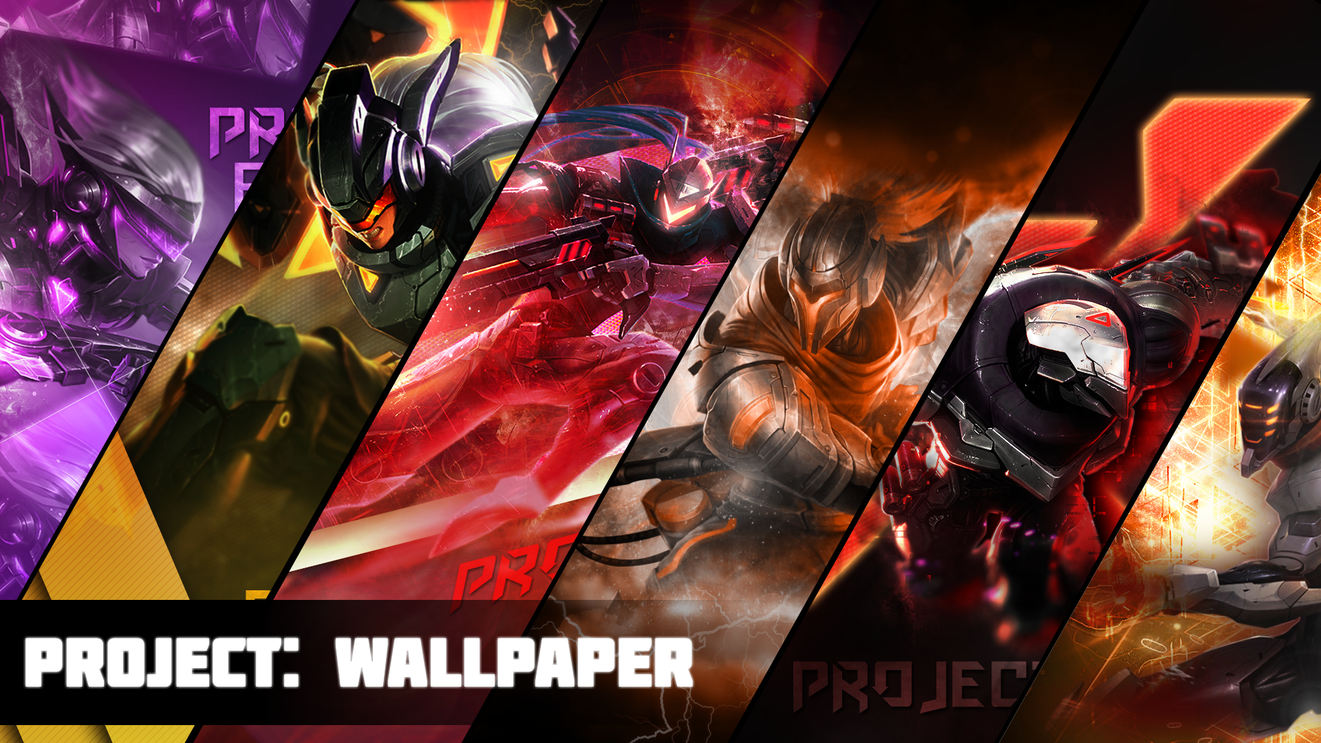 Project Wallpaper By Xael Design On Deviantart