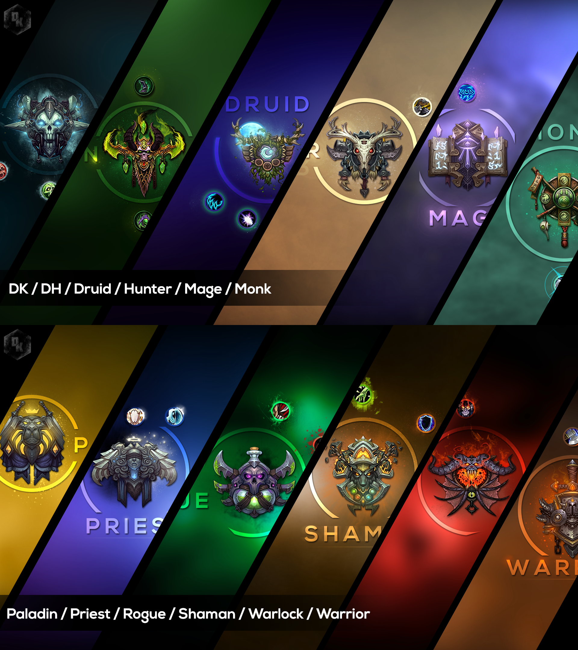 WoW Wallpaper Compilation by Xael-Design on DeviantArt