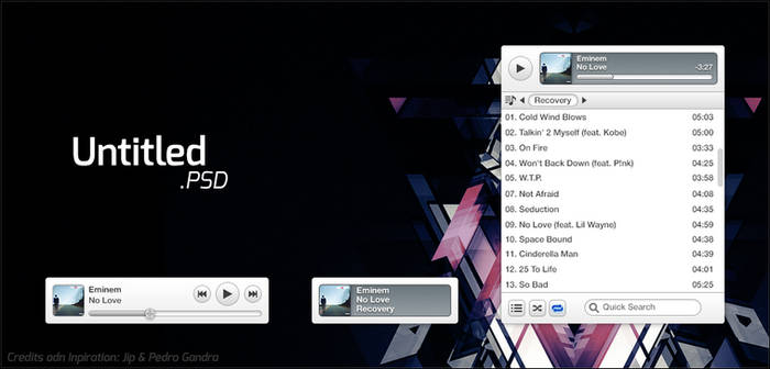 Music Player (*.PSD) by rm005759
