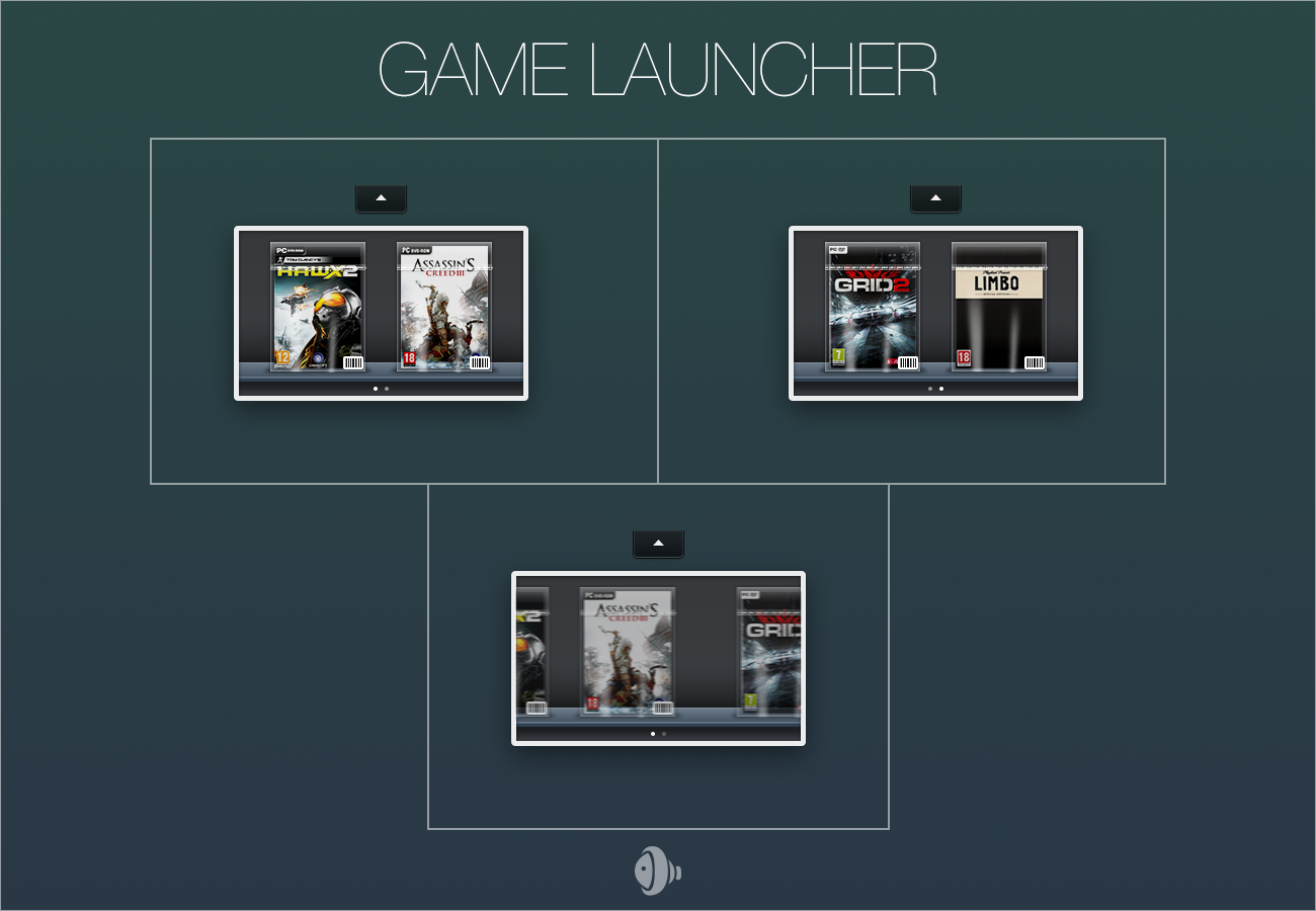 Game Launcher (XWidget) by rm005759