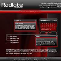 Radiate Rainlendar by Josephs