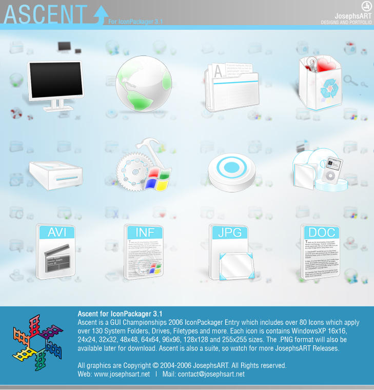 Ascent IconPackage by Josephs