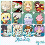 Pack de Renders Anime Chibi by Sick