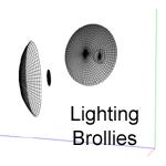 Lighting Brollies by tripleninja