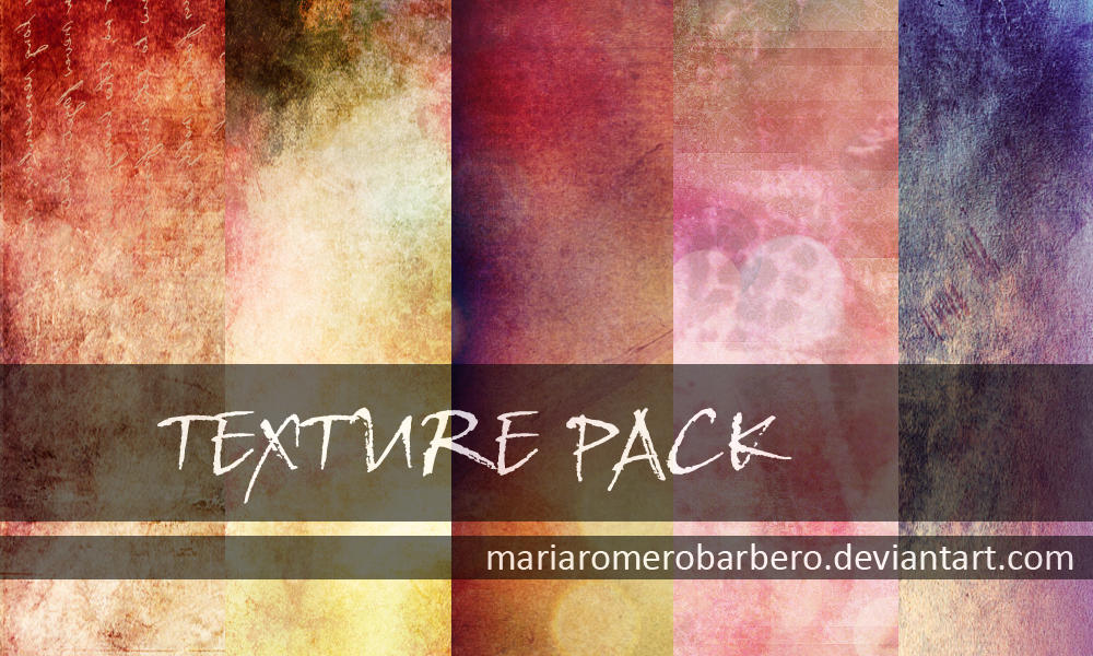 Textures pack by mariaromerobarbero