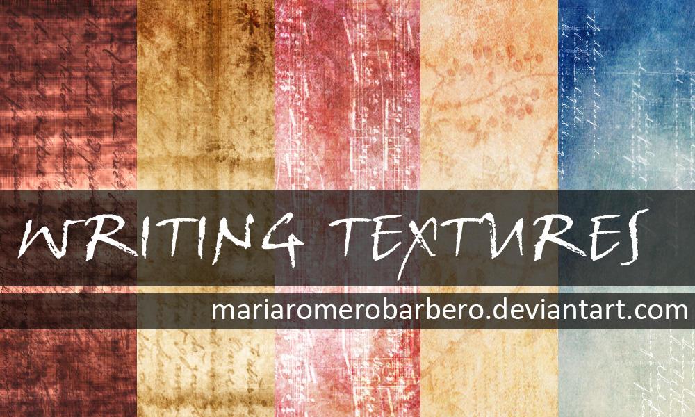 Writing texture pack by mariaromerobarbero