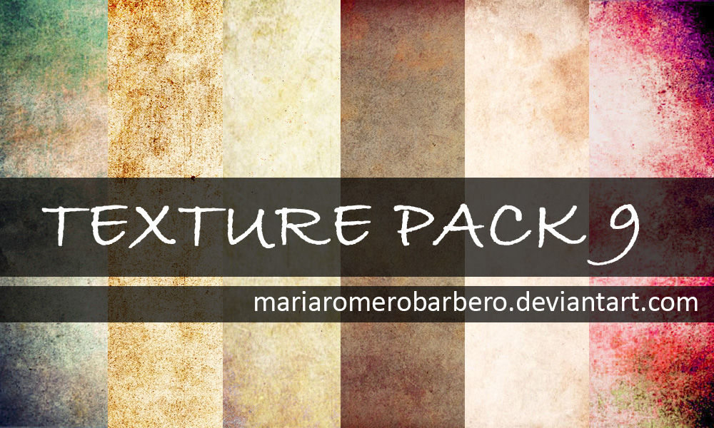 Texture Pack 9 by mariaromerobarbero