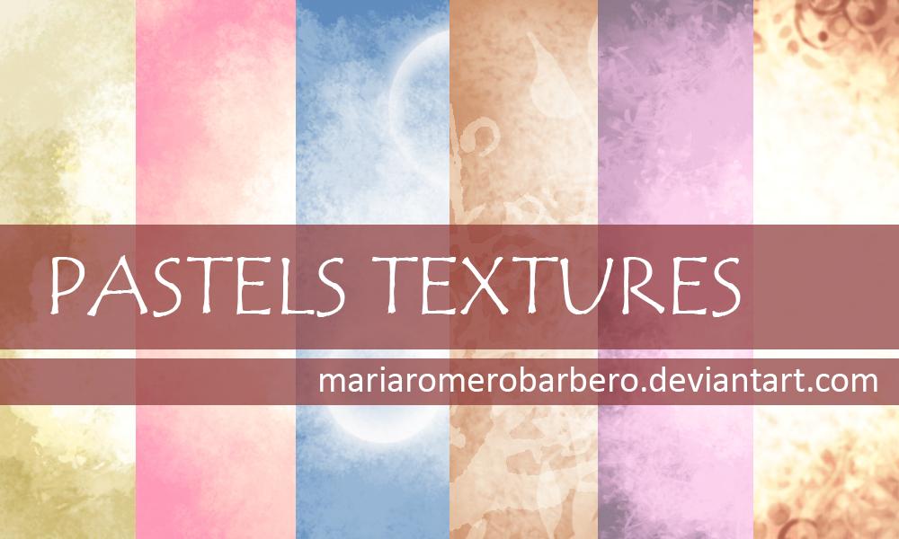 Pastel Textures by mariaromerobarbero