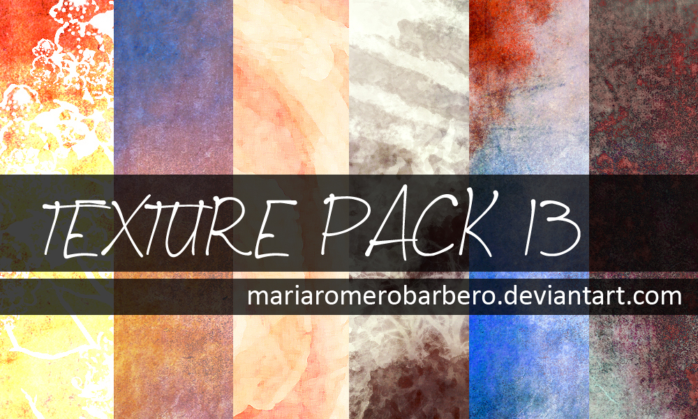 Texture Pack 13 by mariaromerobarbero