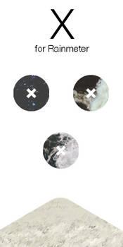 X - Rainmeter Music Cover