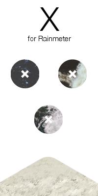 X - Rainmeter Music Cover by aeriusexodus