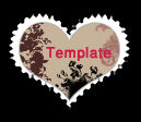 Heart Stamp template