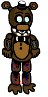 Withered Freddy Pagedoll