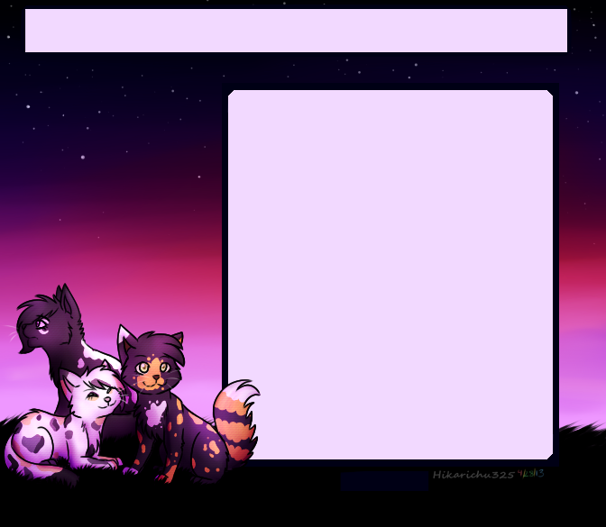 .:PC:. We Three Kitties by FazbearFever