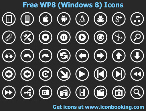 Free WP8 Icons by shockvideoee