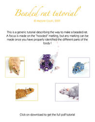 TUTORIAL : Beaded Rat by The-2nd-Trinity
