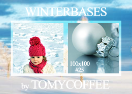 Bases 'winterthemed' 25 by tomycoffee