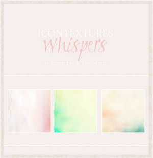 Textures 'whispers'
