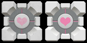 Companion Cube [Update] by NeoRame