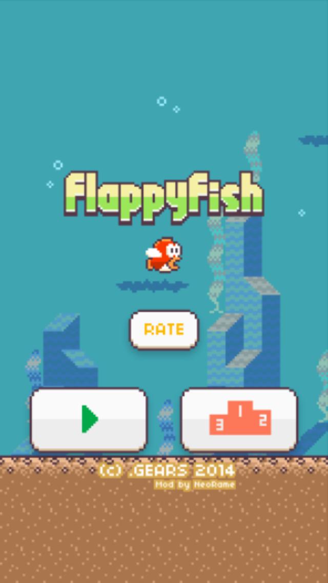''Flappy Fish'' ...the Flappy Bird Theme by NeoRame
