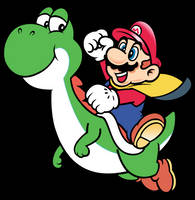 Work In Progress: Classic Mario and Yoshi by NeoRame