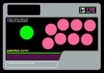 MadCatz FightStick SE - Astro City Design by NeoRame